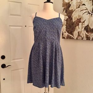 Old Navy Fit and Flare Printed Cami Dress